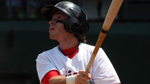 Casey Frawley ranks fifth in the Carolina League with 37 RBIs.